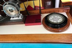 50' Mikelson Pilothouse Cutter 1987 50 Mikelson Salon Compass
