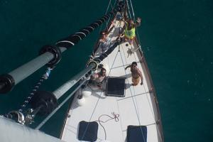 50' Mikelson Pilothouse Cutter 1987 50 Mikelson From Mast View 2
