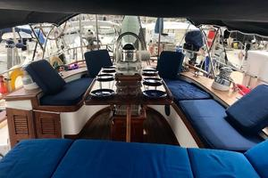 50' Mikelson Pilothouse Cutter 1987 50 Mikelson CC Entertainment Center