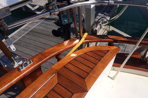 50' Mikelson Pilothouse Cutter 1987 50 Mikelson Beautiful Teak