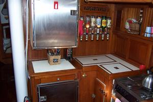 50' Mikelson Pilothouse Cutter 1987 50 Mikelson Galley Refigeration