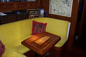 50' Mikelson Pilothouse Cutter 1987 50 Mikelson Galley Settee