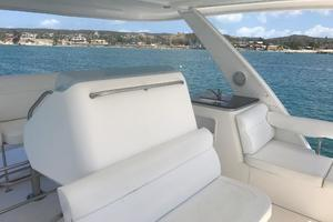 47' Leopard 47 PC 2008 Flybridge seating