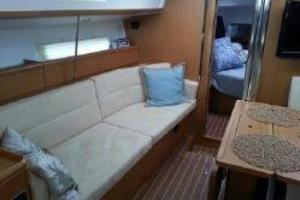 42' Jeanneau Sun Odyssey 42 DS 2010 View into Forward Stateroom