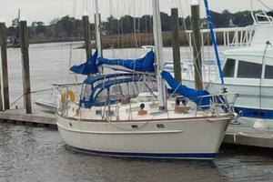 53' Pearson 530 Hybrid Powered Ketch 1981 1981 Pearson 530 Edwards Yacht Sales All New Canvas