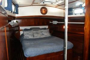 53' Pearson 530 Hybrid Powered Ketch 1981 1981 Pearson 530 Edwards Yacht Sales Spacious Aft Cabin