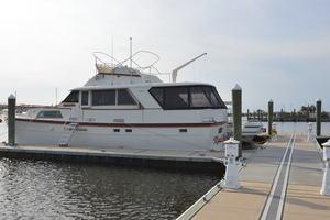 53' Hatteras Motor Yacht 1981 Port