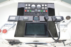 54' Hatteras 54 Edmy 1990 1990 Hatteras 54 ED, New Garmin touchscreen, VHF, Autopilot at FB