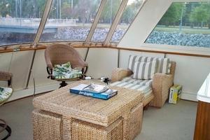 60' Hatteras Motor Yacht 1988 Lower Aft Deck 2