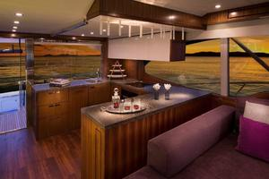77' Riviera Sportfish 2015 Galley