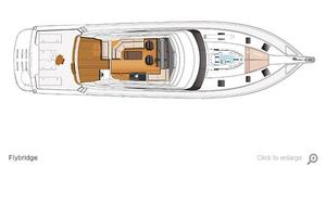 77' Riviera Sportfish 2015 General Arrangement-Flybridge