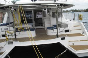 48' Leopard 48 2015 Transom