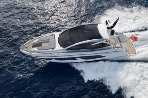 50' Sunseeker Predator 50 2019 Manufacturer Provided Image: Sunseeker Predator 50 Aerial View