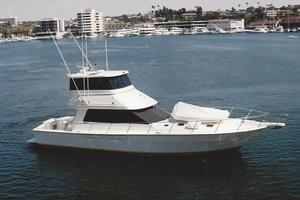 54' Mediterranean Sportfisher 2002 Stock photo