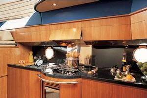 50' Azimut 50 2005 Manufacturer Provided Image: Galley
