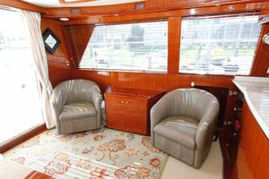 55' Hampton 558 Pilothouse 2006 Hampton 558 Pilothouse Single Seats Portside