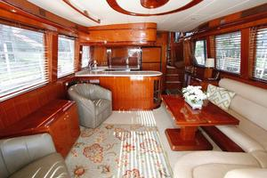 55' Hampton 558 Pilothouse 2006 Hampton 558 Pilothouse Salon