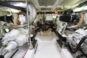 55' Hampton 558 Pilothouse 2006 Hampton 558 Pilothouse Engine Room