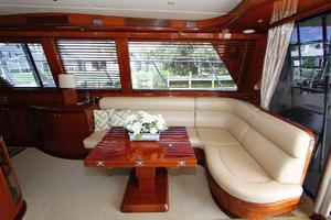 55' Hampton 558 Pilothouse 2006 Hampton 558 Pilothouse Starboard Seating