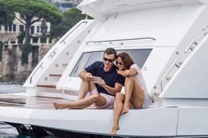 95' Sunseeker 95 Yacht 2019 Manufacturer Provided Image: Sunseeker 95 Yacht Stern