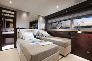 95' Sunseeker 95 Yacht 2019 Manufacturer Provided Image: Sunseeker 95 Yacht Twin Cabin
