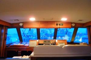 58' Hatteras Flybridge 1987 Pilothouse