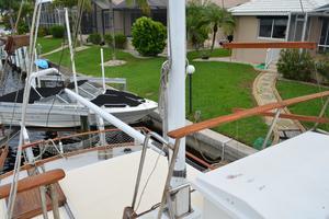 44' Marine Trader Tri Cabin 1978 Marine Trader 44 Classic Trawler Mast and Boom