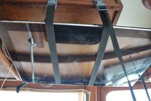 44' Marine Trader Tri Cabin 1978 Marine Trader 44 Classic Trawler Vizio Flat Panel TV