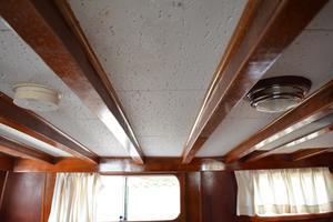 44' Marine Trader Tri Cabin 1978 Marine Trader 44 Classic Trawler Master Overhead
