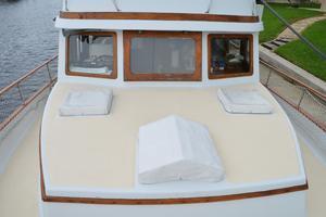 44' Marine Trader Tri Cabin 1978 Marine Trader 44 Classic Trawler Looking Back at House