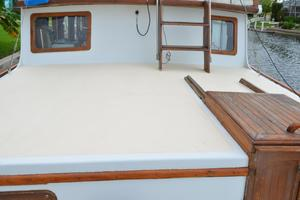 44' Marine Trader Tri Cabin 1978 Marine Trader 44 Classic Trawler Aft Cabintop