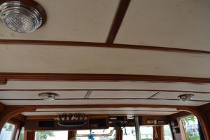 44' Marine Trader Tri Cabin 1978 Marine Trader 44 Classic Trawler Salon Headliner