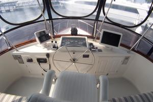 photo of DeFever-Trawler-2003-SKINNY-DIPPER-Stuart-Florida-United-States-Flybridge-Helm-Station-762922