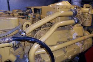 48' Chung Hwa Seamaster Sundeck 1989 48 Chung Hwa Port Engine