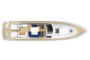 71' Princess V70 2004 Manufacturer Provided Image: Upper Deck
