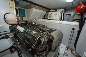 52' Krogen KE 52 2014 Engine Room