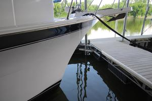 53' Hatteras 53 Motor Yacht 1973 Starboard Bow From Dock