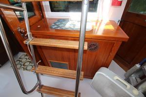 53' Hatteras 53 Motor Yacht 1973 Aft Deck AC