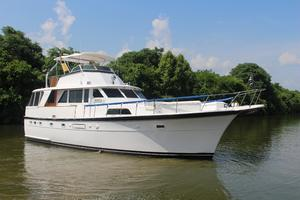 53' Hatteras 53 Motor Yacht 1973 Profile Exterior