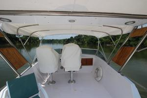 53' Hatteras 53 Motor Yacht 1973 Bridge From Aft
