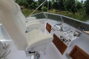 53' Hatteras 53 Motor Yacht 1973 Bridge From Starboard