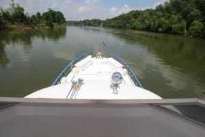 53' Hatteras 53 Motor Yacht 1973 View From Bridge