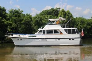 53' Hatteras 53 Motor Yacht 1973 Port Profile