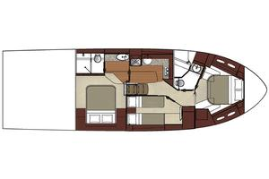 51' Sea Ray 510 Sundancer 2017 ManufacturerProvidedImage3stateroomoption
