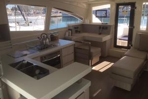 48' Leopard 48 2015 Galley View (1) Sister-ship