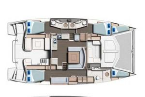 48' Leopard 48 2015 Owners Layout