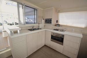 48' Leopard 48 2015 Galley (1) Sister-ship