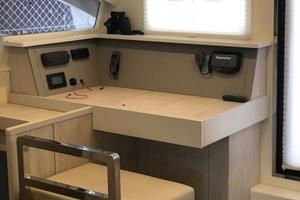 48' Leopard 48 2015 Navigation Station View (1) Sister-ship