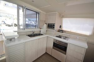 48' Leopard 48 2015 Galley View (2) Sister-ship