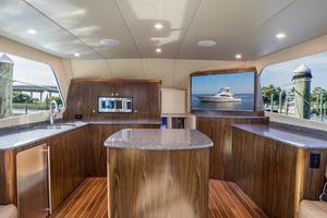 50' Custom Carolina Forbes 2016 Galley
